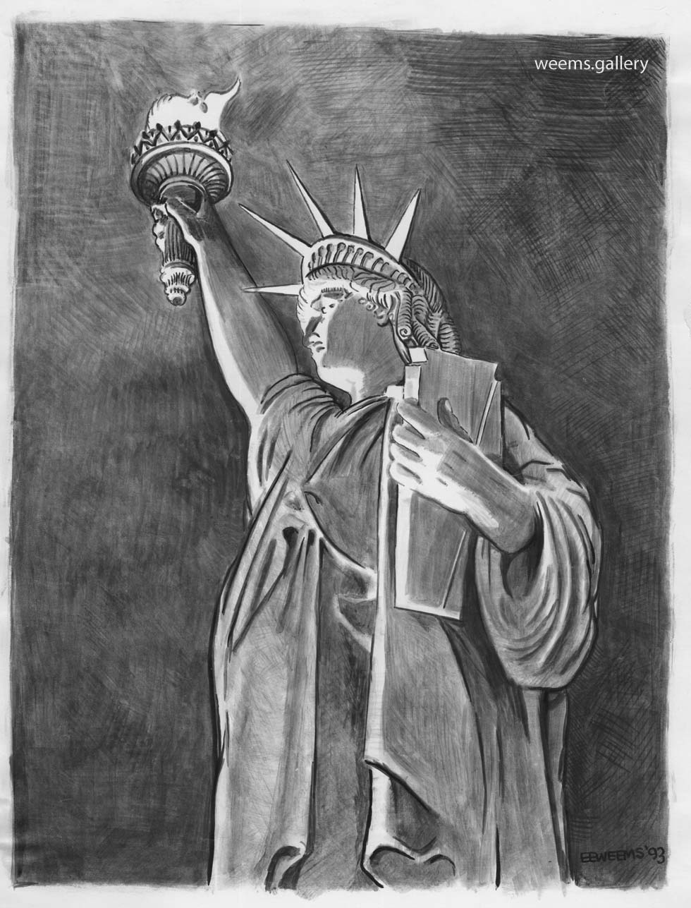 Statue of Liberty 1993