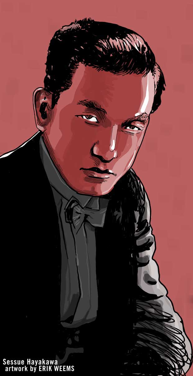 Sessue Hayakawa -art by Weems