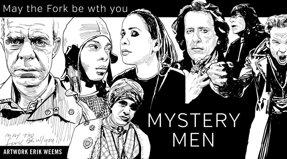 Mystery Men Movie Art