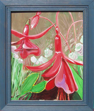 Red Bells Painting art by Erik Weems